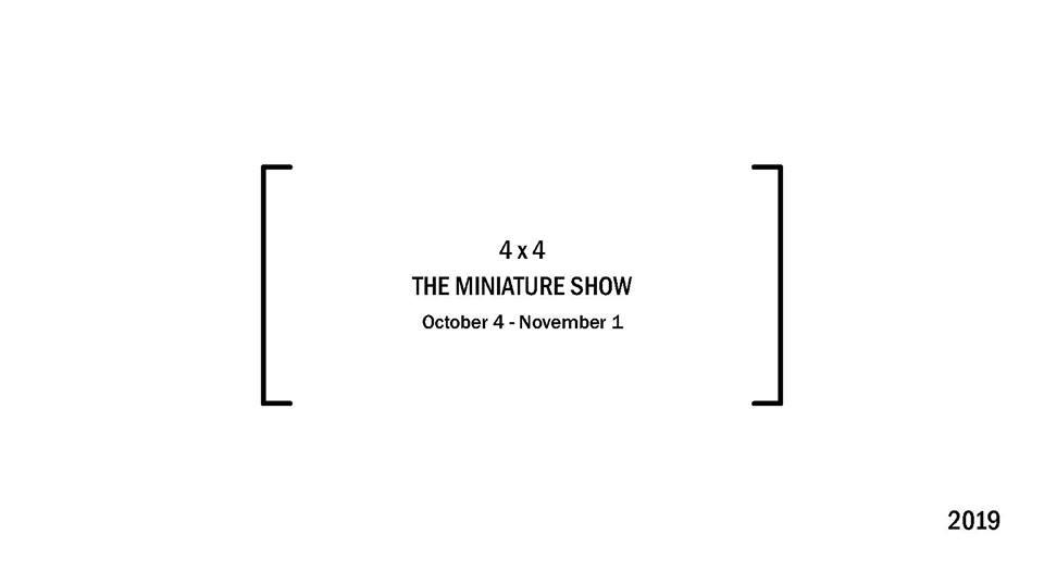 4 x 4 : The Miniature Show