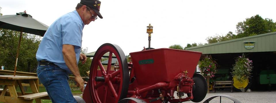 26th Annual Antique Engine Show & Fly Creek Day Lawn Sales