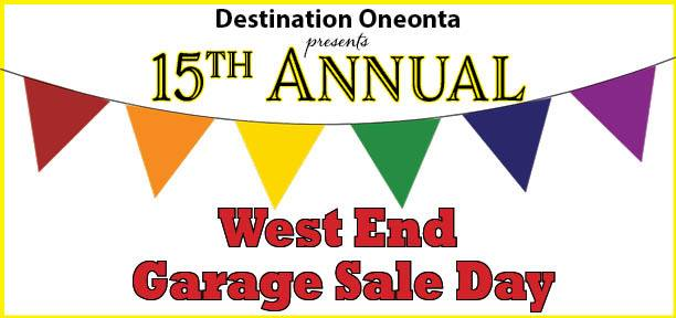 West End Garage Sale Day