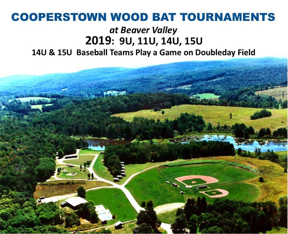 14U Wood Bat Tournament- Play a Game on Doubleday Field!
