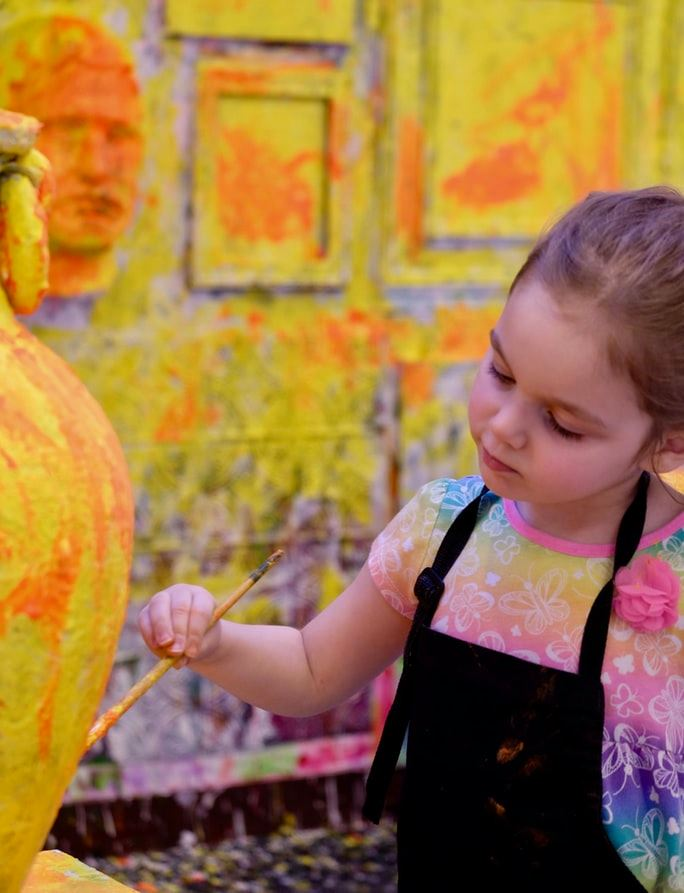 Afternoon Art in August (Kids Ages 4-8)