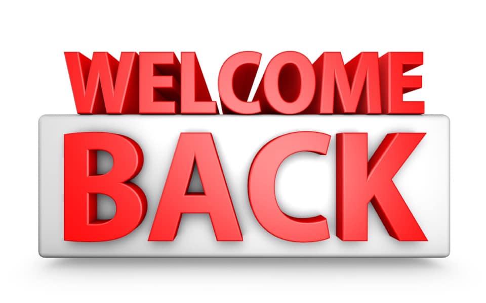 Welcome Back Weekend!