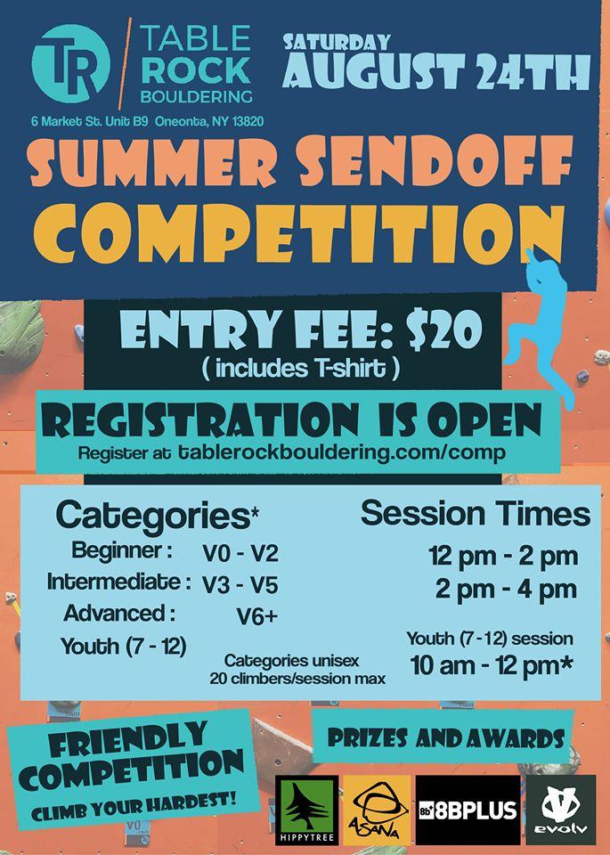 Summer Sendoff Competition