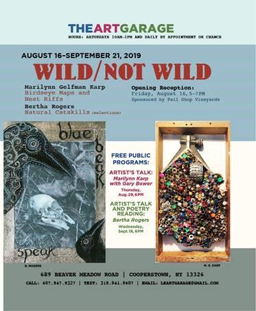 Wild/Not Wild Artist Talk