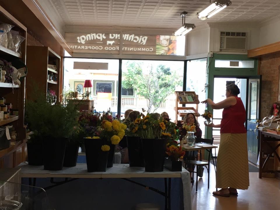 Spongetta's Garden Wreath Making Class
