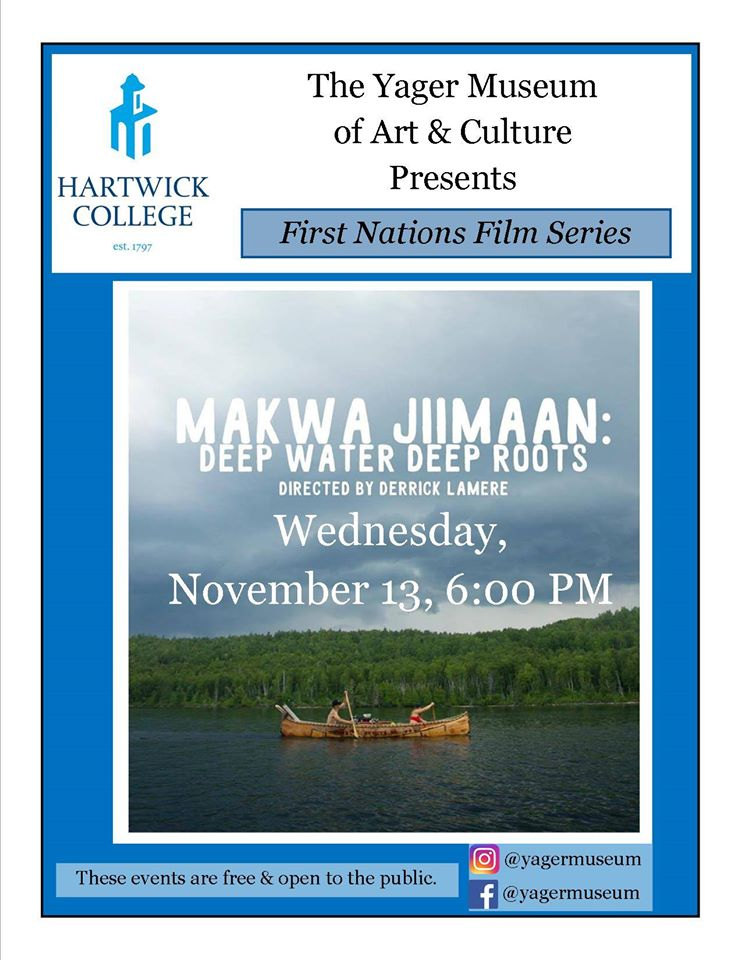 Makwa Jiimaan Deep Water Deep Roots-First Nations Film Series