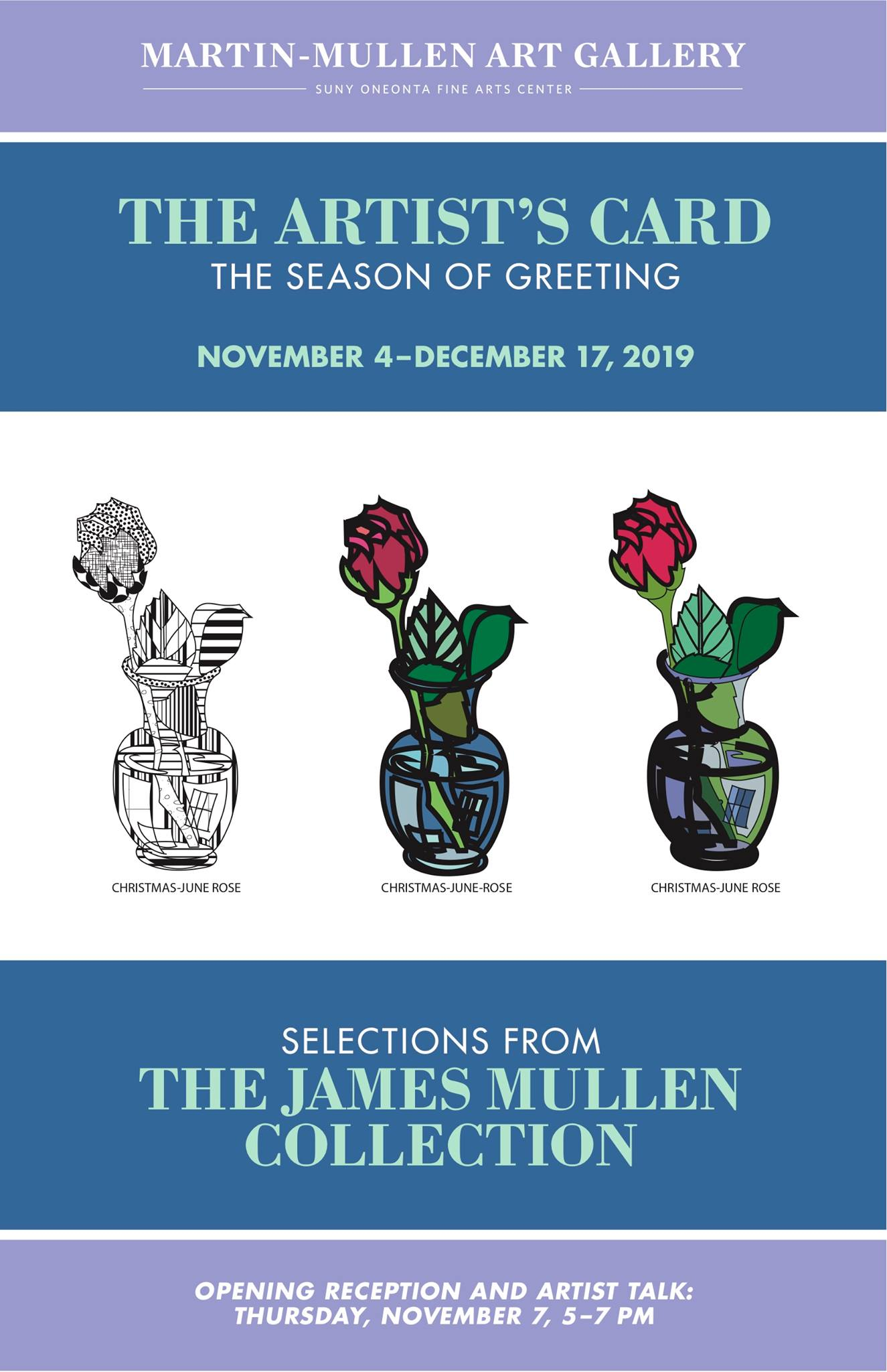 The Artist's Card - Selections from The James Mullen Collection