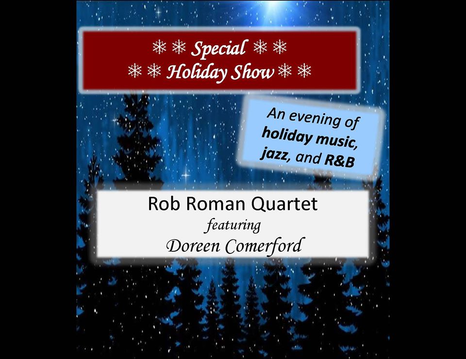 Special Holiday Show: Rob Roman Quartet at B Side Ballroom