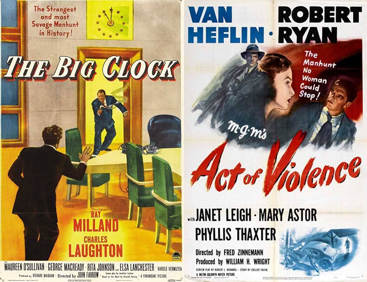 Noir Double Feature: The Big Clock and Act of Violence