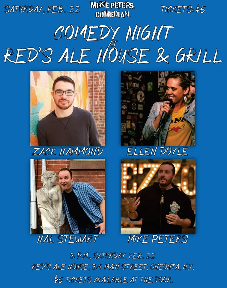 Comedy Night at Red's Ale House & Grill