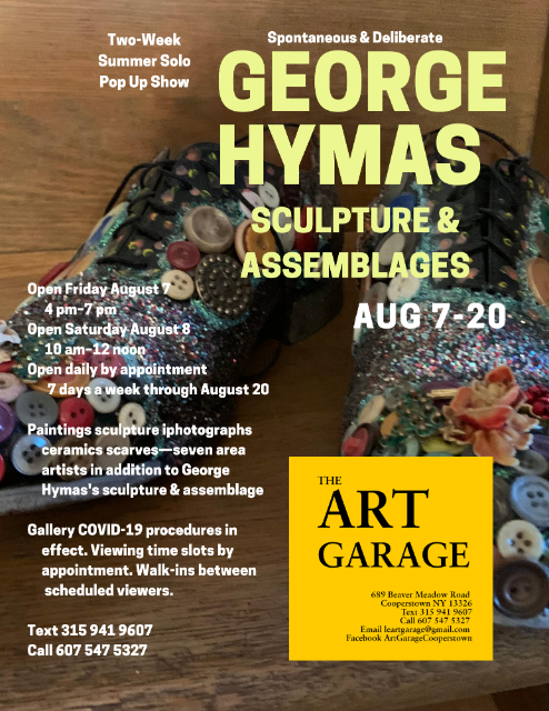 Pop Up Show: George Hymas - Sculpture & Assemblages